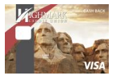 Image of Visa with Mount Rushmore background.